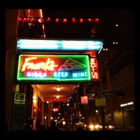 Photo taken at Frank's Pizza by Julie S. on 12/11/2011