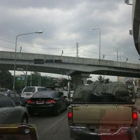 Photo taken at Mueang Min Intersection by Mambo O. on 6/23/2012