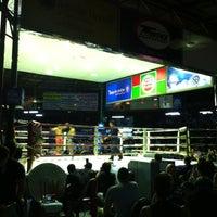 Photo taken at Lumpinee Boxing Stadium by Mac Nathapat on 8/7/2012