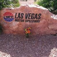 Photo taken at Las Vegas Motor Speedway by Brad R. on 10/17/2011
