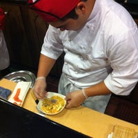 Photo taken at Fujiyama Steak House of Japan by Jason C. on 9/18/2011