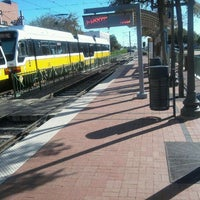 Photo taken at Downtown Plano Station (DART Rail) by Steven G. on 11/3/2011