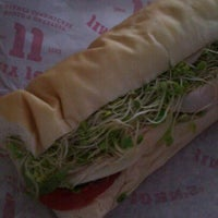 Photo taken at Jimmy John's by Sarah S. on 12/17/2011