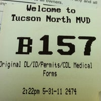 "Photo taken at Arizona DMV by John ""Gio"" P. on 5/31/2011"