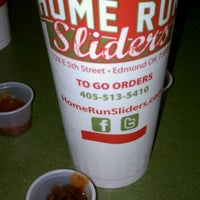 Photo taken at Home Run Sliders by Jessica L. on 9/30/2011