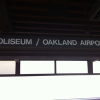 Photo taken at Coliseum BART Station by Katrin on 9/5/2012
