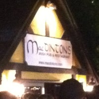 Photo taken at MacDinton's Irish Pub & Restaurant by Sasha D. on 10/6/2011