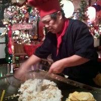 Photo taken at Samurai Japanese Steak House by Lori Y. on 12/31/2011