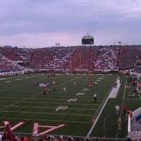 Photo taken at War Memorial Stadium / AT&T Field by Chris S. on 9/10/2011