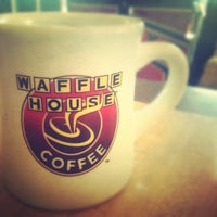 Photo taken at Waffle House by Christina G. on 8/18/2012
