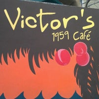 Photo taken at Victor's 1959 Cafe by Drew G. on 12/3/2011