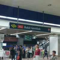 Photo taken at Bukit Gombak MRT Station (NS3) by Lim Y. on 9/6/2012