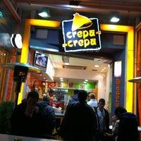 Photo taken at Crepa-Crepa by Domenico L. on 2/14/2011