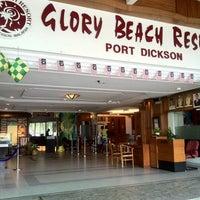 Photo taken at Glory Beach Resort by Karthigesu K. on 8/21/2012