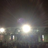 Photo taken at Gexa Energy Pavilion by Harrison J. on 11/6/2011