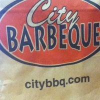 Photo taken at City Barbeque by Payton L. on 6/2/2012
