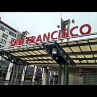 Photo taken at San Francisco Caltrain Station by Matt K. on 3/15/2012