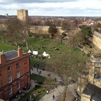 Photo taken at Lincoln Castle by Michael B. on 3/28/2012