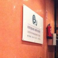 Photo taken at EU Business School Barcelona - European College by Tato N. on 3/27/2012