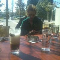 Photo taken at Platia Cafe by Αριστομενης Δημητρης Α. on 3/2/2012