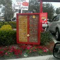 Photo taken at Chick-fil-A Orlando Ave. at Fairbanks by Stacy F. on 2/9/2012