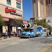 Photo taken at Hootsuite Bus by David H. on 3/13/2012