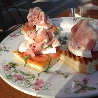 Photo taken at Panini's Trattoria, Italian Grill by A.J. F. on 5/19/2012