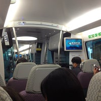 Photo taken at MTR Airport Station 機場站 by nadokazu on 8/10/2012