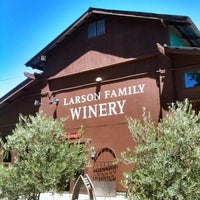 Photo taken at Larson Family Winery by William L. on 6/30/2012