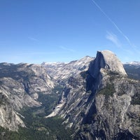 Photo taken at Glacier Point by Oliver on 5/10/2012