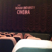 Photo taken at Indiana University Cinema by Rajeev G. on 4/8/2012