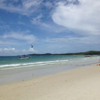Photo taken at Sai Kaew Beach Resort by PiggyBuff Y. on 7/14/2012
