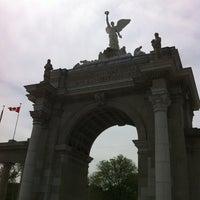 Photo taken at Princes' Gates by Richard M. on 5/26/2012