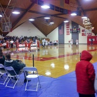 Photo taken at Clark University -  Kneller Athletic Center by Joe S. on 2/21/2012