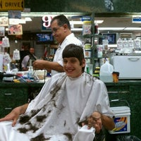 Photo taken at Carl's Barber Shop by mailman g. on 8/17/2012
