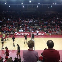 Photo taken at NU Coliseum by Adam B. on 4/14/2012