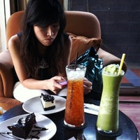 Photo taken at Colette Cafe' Coffee & Bakery by TOa M. on 8/23/2011