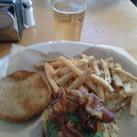 Photo taken at Monsoon Burger by Lisa O. on 1/15/2012