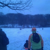 Photo taken at Prospect Park Picnic House by Mark P. on 1/21/2012