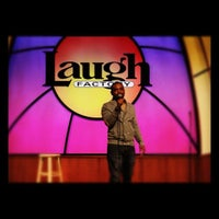 Photo taken at Laugh Factory by Clark J. on 3/11/2012