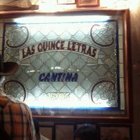 Photo taken at Las Quince Letras by Kalim B. on 7/15/2012
