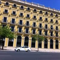 Photo taken at Hotel Tryp Sevilla Macarena by Víctor N. on 4/24/2012