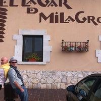 Photo taken at El Lagar de Milagros by Santiago O. on 11/23/2011