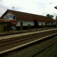 Photo taken at Stasiun Parungkuda by Rudi S. D. on 12/26/2011