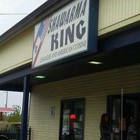 Photo taken at Shawarma King by Sarah M. on 5/1/2012