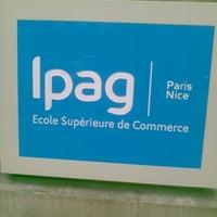 Das Foto wurde bei IPAG Business School von Phil J. am 12/19/2011 aufgenommen