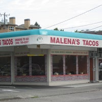 Photo taken at Malena's Tacos by Robby D. on 6/25/2012