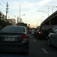 Photo taken at Sutthisan Intersection by Tin C. on 8/22/2011