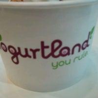 Photo taken at Yogurtland by Thomas T. on 1/23/2012