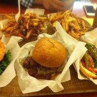 Photo taken at Edzo's Burger Shop by Jiyong S. on 5/31/2012